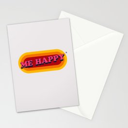 ME HAPPY Stationery Cards