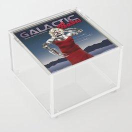 Galactic Cover Girl Acrylic Box