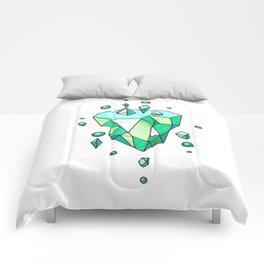 Little Emerald World Comforters