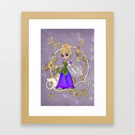 Fairy Princess .. fantasy Framed Art Print