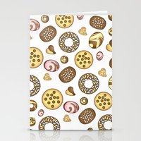 cookies Stationery Cards featuring Cookies ♥ by Martina Marzullo Art
