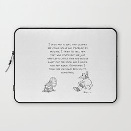 Danced right out the door Laptop Sleeve
