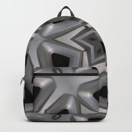 Abstract kaleidoscope of a wheel cover Backpack