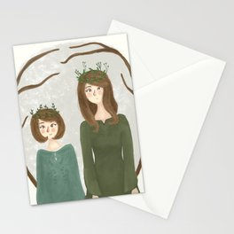 Queen Susan and Queen Lucy Stationery Cards