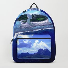 Bora Bora Island Tropical Paradise Backpack