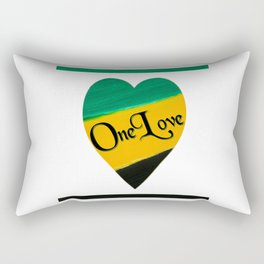 Heart - One Love Rectangular Pillow