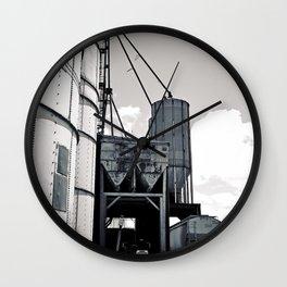 Grain depot Wall Clock