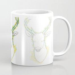 Flower Deer Coffee Mug