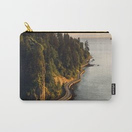 A Curvy Park - Vancouver, British Columbia, Canada Carry-All Pouch
