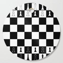 Chess Board Layout Cutting Board