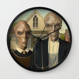 American Greys Wall Clock