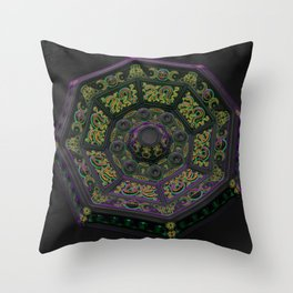 Questions Answered Throw Pillow
