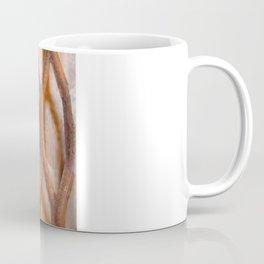Rusted Steel Faded Wood Coffee Mug