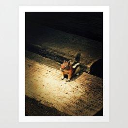 Cute Critter Art Print