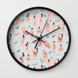 The Devil Eye Wall Clock
