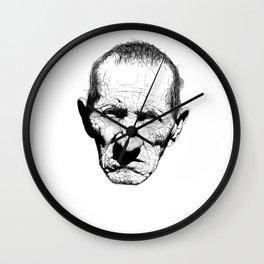 Mr. Grumpy Wall Clock