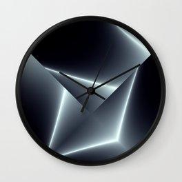 Metal plates Wall Clock