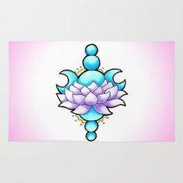 Lotus Moon Rug