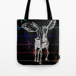 Pegasus Flatlining 2 Tote Bag