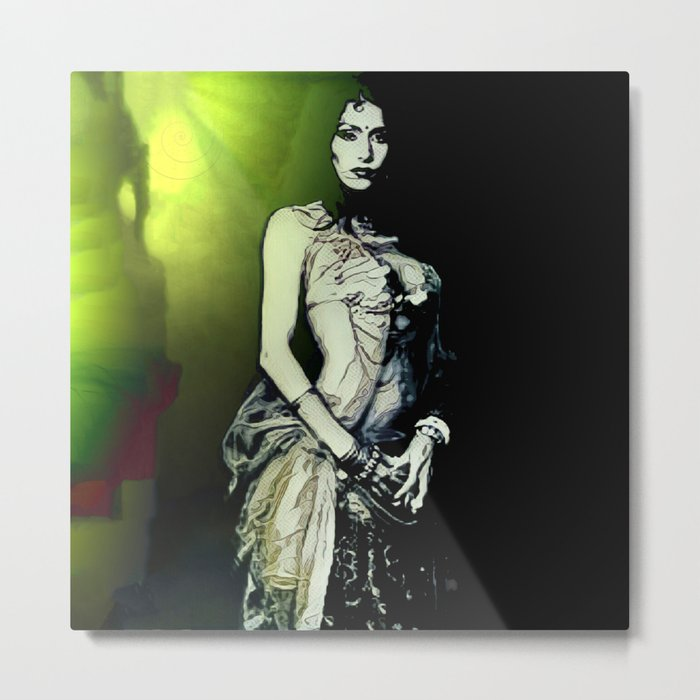 Esmerelda: Stepping Out Of The Nightmare Realm Metal Print