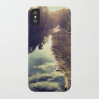 river iPhone & iPod Cases featuring River by Spencer Martin