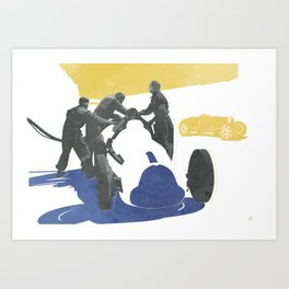 Fangio Art Print