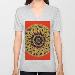 Colorful Mandala WP Unisex V-Neck