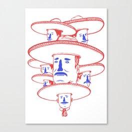 The Mariachi Band Canvas Print