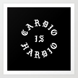 Cardio Is Hardio Art Print