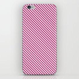 Pink Yarrow Stripe iPhone Skin