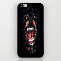 givenchy iPhone & iPod Skins featuring Givenchy Dog by I Love Decor