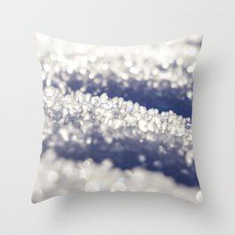Close to the ice Throw Pillow