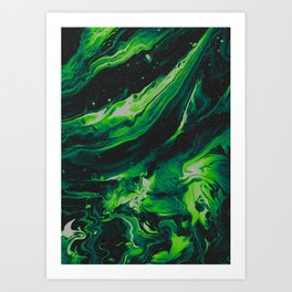 OAKWOOD Art Print