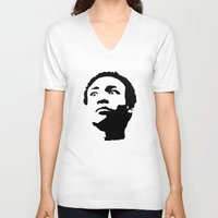 caleb troy V-neck T-shirts featuring Greendale Community: Troy Barnes by Catherine