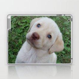Cutie Pie yellow Lab puppy Laptop & iPad Skin