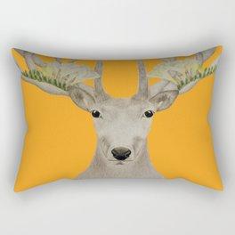Botanic Deer Rectangular Pillow