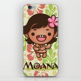 Kawaii Baby Moana iPhone Skin