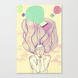 Viaje Canvas Print