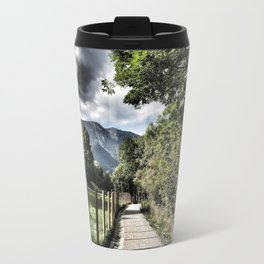 The Path to Happiness Travel Mug