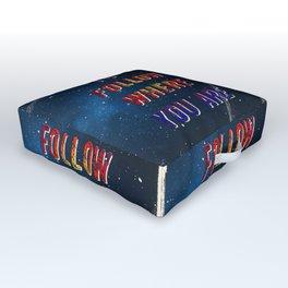 I'm wishing on a Star #2 - 50 Years Moonlanding Outdoor Floor Cushion