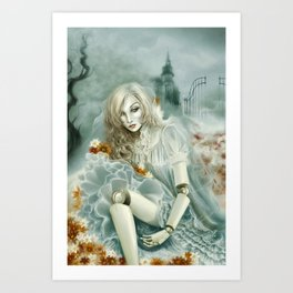 Soul for me Art Print
