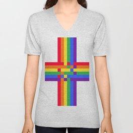 Gay crossroad Unisex V-Neck