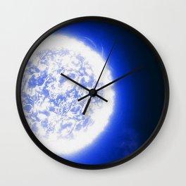 Endless White Wall Clock