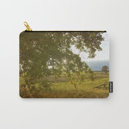 Autumn Countryside Landscape Sunset Carry-All Pouch