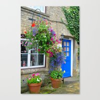 england Canvas Prints featuring England by Emilycas