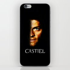 Castiel / Supernatural - Painting Style iPhone & iPod Skin