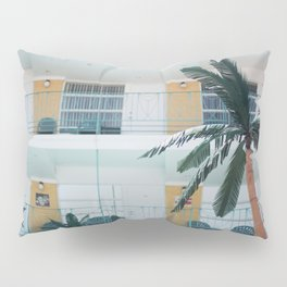 Retro Motel in Wildwood, New Jersey Pillow Sham