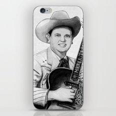 Merle Travis III iPhone & iPod Skin