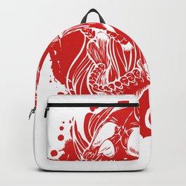 Screaming Gothic Female Hollow Skull Backpack