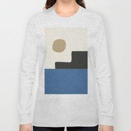 abstract minimal 30 Long Sleeve T-shirt